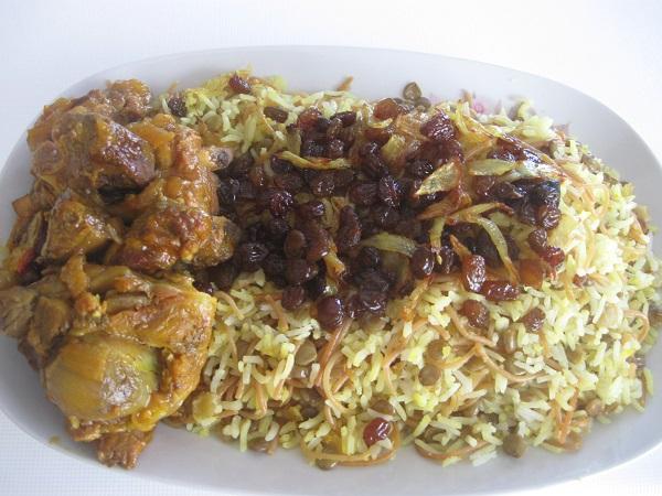 بره پلو عربی بره پلو عربی   | غذای عربی خوزستان