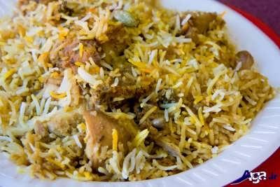 بریانی پلو عربی  | غذای عربی خوزستان
