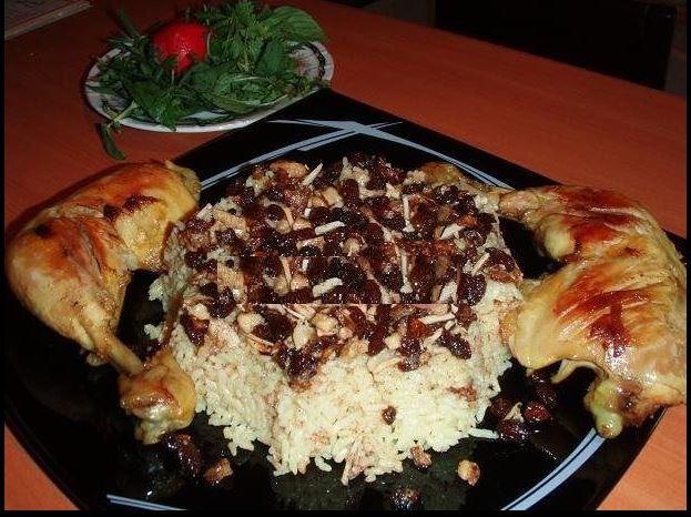 پلو بحرینی پلوی بحرینی  | غذای عربی خوزستان
