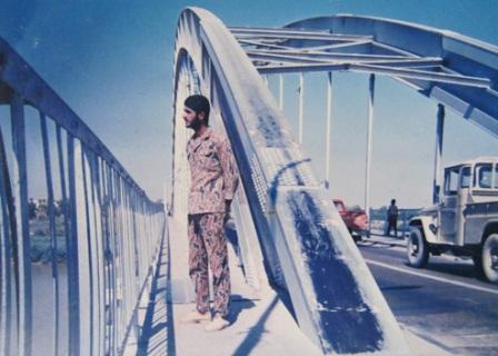 عکس پل سفید اهواز قدیمی