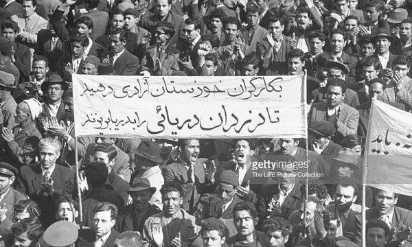 عکس از اعتراض کارگران خوزستان | اهواز قدیم