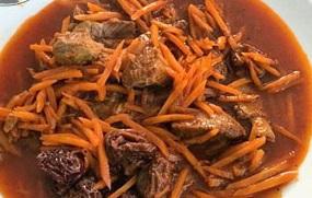 طرز تهیه خورشت آلو و هویج طرز تهیه خورشت آلو و هویج