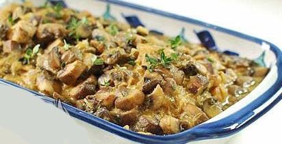 طرز تهیه خورشت قارچ و مرغ 1 طرز تهیه خورشت قارچ و مرغ