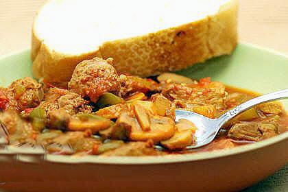 طرز تهیه خورشت قارچ و گوشت چرخ کرده طرز تهیه خورشت قارچ و گوشت چرخ کرده