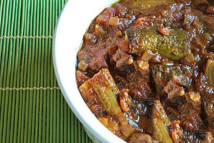 طرز تهیه خورش کدو سبز با گوشت طرز تهیه خورش کدو سبز با گوشت