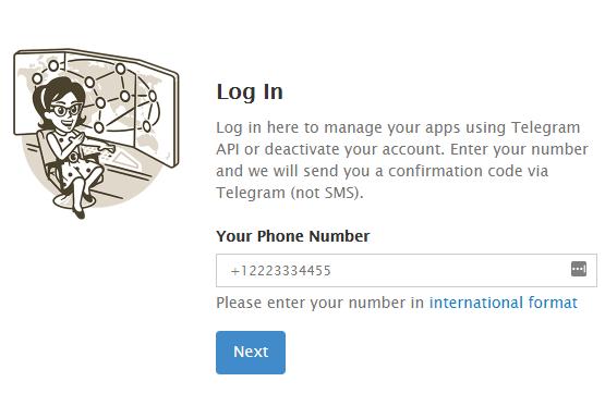 Delete Telegram account روش دلیت اکانت موبوگرام