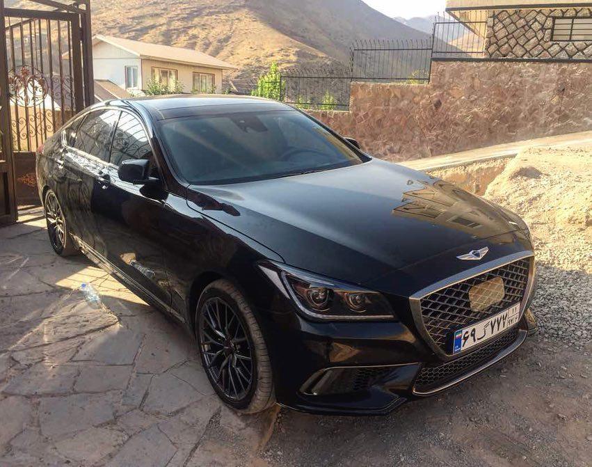 جنسیس G80 مدل 2018 پلاک اروند خوزستان خبر