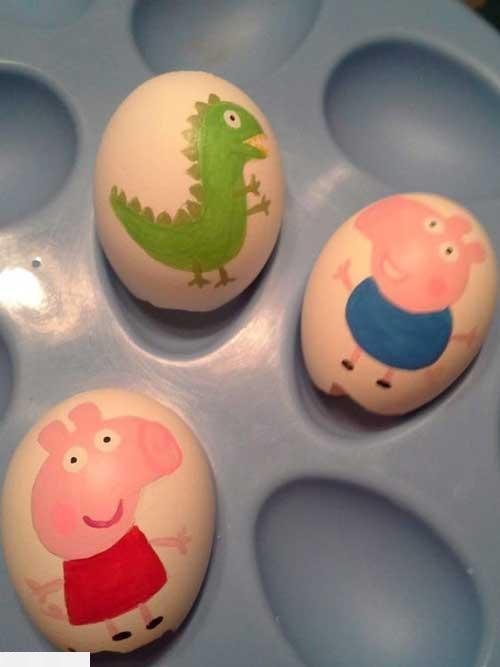 آموزش تزیین تخمه مرغ هفت سین 98tokhmemorgh khook 5 آموزش تزیین تخمه مرغ هفت سین 98